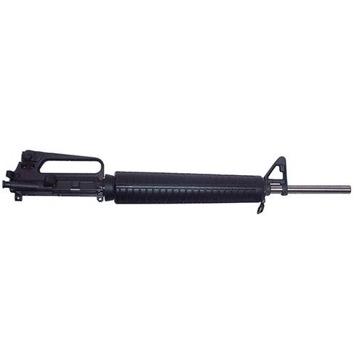 CLE Service Rifle Upper in .223 caliber The barrels are Stainless Steel with choice of chamber and the rear sight base in either 1/2 or 1/4 MOA. Standard install finds our CLE float tube, hood, interchangeable aperture of your choice, windage adjustable front sight with post of your choice.