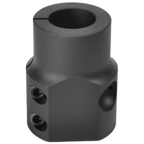 gas block is available in standard sizes and is replacing our old gas block that needed to be locktited on.