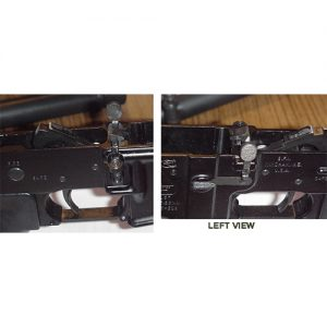 Two photos of right hand release kit