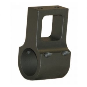 "Front Sight Base for Match Rifle type front sight mounting. Can be modified to .812"" ID on request."