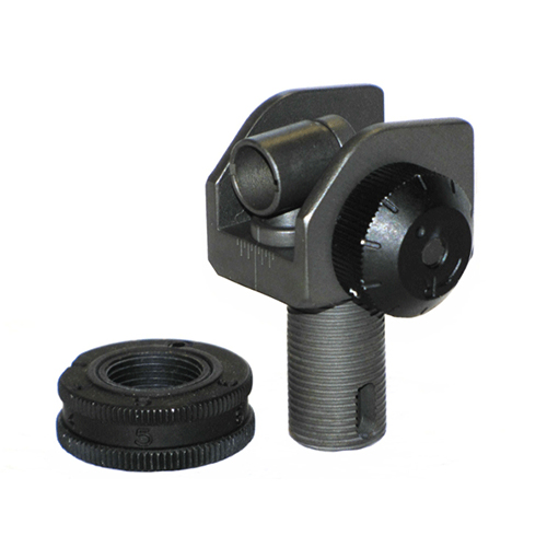 National Match Rear Sight comes with Hood, Aperture, springs, detents, and roll pin. Your choice of 1/4 or 1/2 MOA and aperture size. All springs, detent balls, and roll pins needed for installation are included