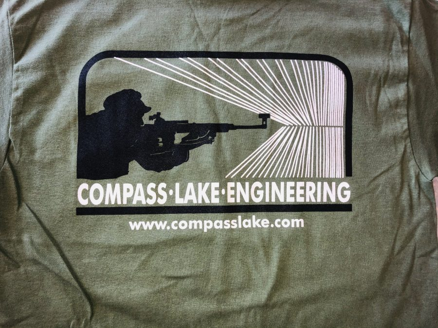 CLE T-shirt Army Green
