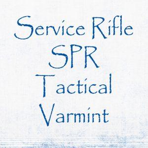 Service Rifle, SPR Tact. Varmint