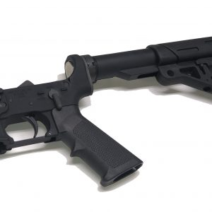 CLE lower with collapsible Hogue buttstock